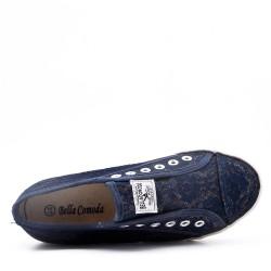 Zapatillas de tenis con cordones