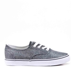 Women's lace-up tennis