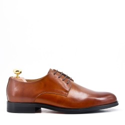 Derby with leather lace