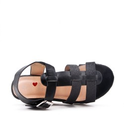 Wedge sandal for girl