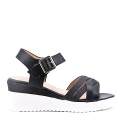 Sandale compensée pour fille