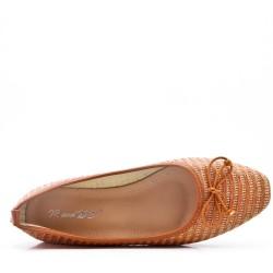 Textile comfort ballerina