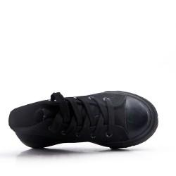 Cesta infantil con cordones negra