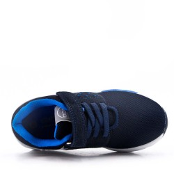 Navy children's sneaker with scratch