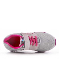 Children's gray sneaker with scratch