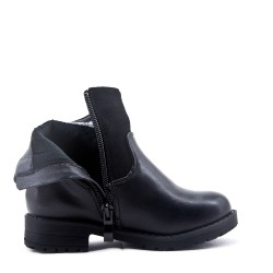 Bottine enfant en simili cuir