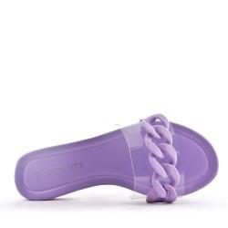 slipper transparent