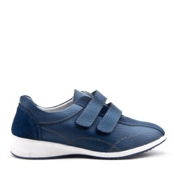 Women's leather sneaker without lace
