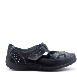 Leather comfort shoes