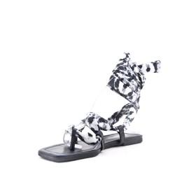 Sandale en satin pour femme
