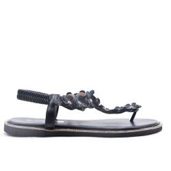 Sandale en simili cuir