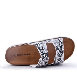 Wedge slide for women