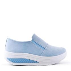 Women's faux suede sneakers