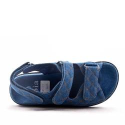 Sandale en textile