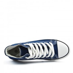 Men's canvas lace-up sneakers