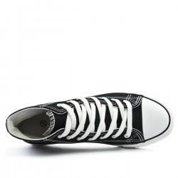 Zapatillas de lona con cordones para hombre