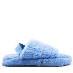 fur slipper