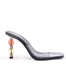 Sandale à talon pour femme