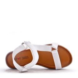Sandal with thick sole