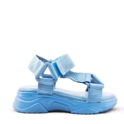 Girl's textile sandal