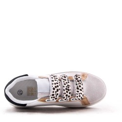 Basket material mix with lace for women