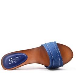 Textile sandal