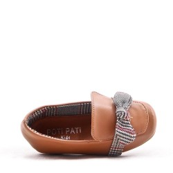 Moccasin in faux leather