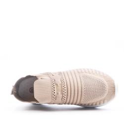 Women's textile basket without lace