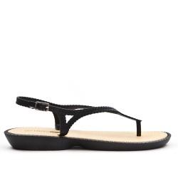 Sandale tong noire