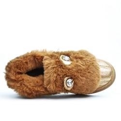 Basket camel à motif lapin