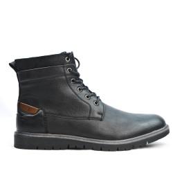 Bota de tobillo negro