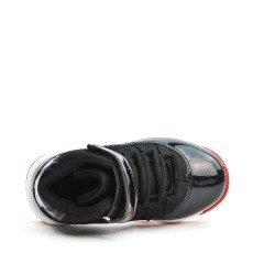Black Red Boyfoot Basketball Shoe