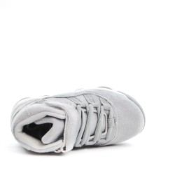 Basket grise pour garçon