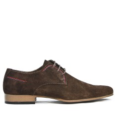 Brown Derby in Lace-Leather Crust
