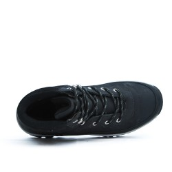 Black lace up sport boot