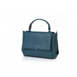 ANDIE BLUE - Square purse with shoulder strap