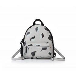 ANDIE BLUE - Printed backpack