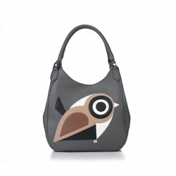 ANDIE BLUE - Bird handbag