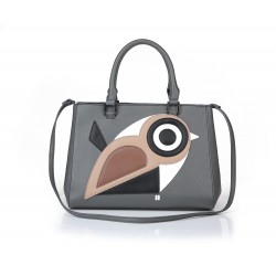 ANDIE BLUE - Bird handbag with shoulder strap