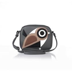 ANDIE BLUE - Bolsa de hombro de pájaro