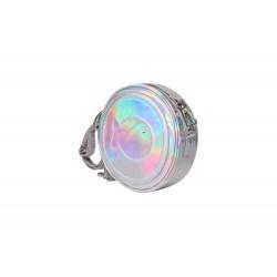 CLIO BLEU -  Small round shoulder bag