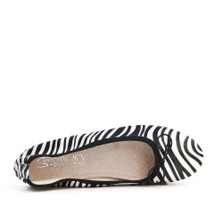 Zebra ballerina in large size