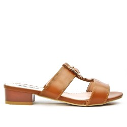 Camel sling with square heel in large size