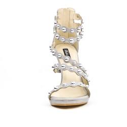 Sandale grise à multibrides