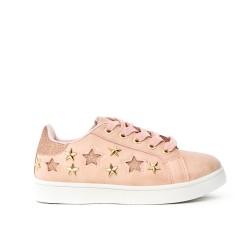 Basket rose à motif étoile