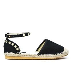 Sandale Espadrille noire