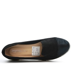 Black Derby without lace