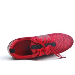 Red basket with thick soles