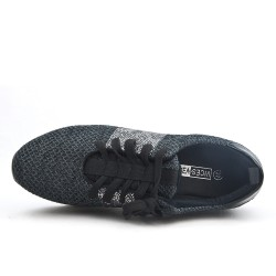 Black basketball with thick sole