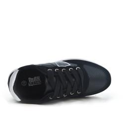 Basket noire enfant à lacet